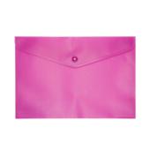 Папка-конверт на кнопке Buromax, A5, розовый (BM.3935-10)