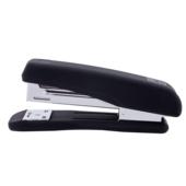 Степлер Buromax Rubber Touch, скобы №24/6, 20 л, черный (BM.4205-01)