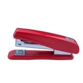 Степлер пластиковий Buromax, скобы №24; 26, 20 л, красный (BM.4210-05)