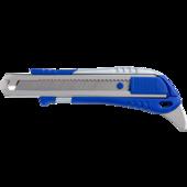Нож универсальный Buromax 18мм, мет. направ-я, с доп. крючком (BM.4621)