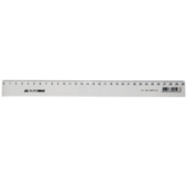 Линейка пластиковая Buromax, 30 см, прозрачная (BM.5829-30)