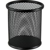 Подставка для письменных принадлежностей Buromax металлическая 90х98 мм Черная (BM.6202-01)