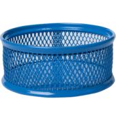 Подставка для скрепок Buromax 80x80x40мм, металлическая, синий (BM.6221-02)