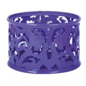 Подставка для скрепок Buromax Barocco, металл, фиолетовый (BM.6222-07)