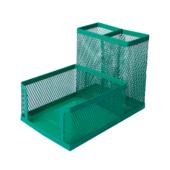 Органайзер настольный металлический Buromax 104x153x98 мм Зеленый (BM.6242-04)