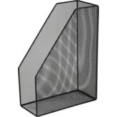 Лоток для бумаг вертикальный Buromaх, металлический, черный (BM.6260-01)
