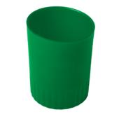 Стакан пластиковый для письменных принадлежностей Buromax Jobmax, зеленый (BM.6351-04)