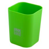Стакан пластиковый Buromax RUBBER TOUCH для письменных принадлежностей, св-зеленый (BM.6352-15)