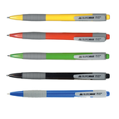 Ручка шариковая автоматическая Buromax Jobmax, 0,7 мм, синее чернило (BM.8202)