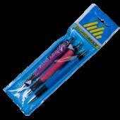 Набор из 3-х шариковых ручек автоматических Buromax, 0,7 мм, синее чернило (BM.8228-0143)