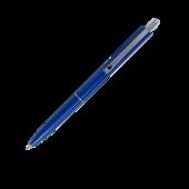 Ручка шариковая автоматическая Buromax COLOR, LOGO2U, 1 мм, син.корпус, синие чернила (BM.8239-02)