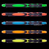 Ручка шариковая автоматическая Buromax Live Touch, 0.7мм, масляные чернила (BM.8270)