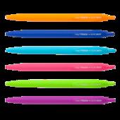 Ручка шариковая автоматическая Buromax Holly Touch, 0.7мм, масляные чернила (BM.8271)