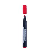Маркер для флипчартов Buromax на водной основе 2 мм Красный (BM.8810-05)