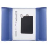Набор подарочный Langres Nature: ручка шариковая + зеркало, фиолетовый (LS.122035-07)