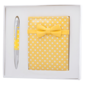 Набор подарочный Langres Monro: ручка шариковая + зеркало, желтый (LS.122036-08)