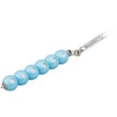Ручка шариковая Langres Secret, с кристаллами, синий, в подарочном футляре (LS.401021-02)