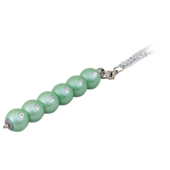 Ручка шариковая Langres Secret, с кристаллами, зеленый, в подарочном футляре (LS.401021-04)