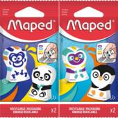 Ластик Maped Ergo Fun Multicolor 2 шт (MP.119002)