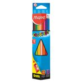 Карандаши цветные Maped Color Peps Classic MP.183213, 12 цветов + точилка