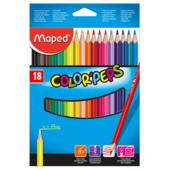 Карандаши цветные Maped Color Peps Classic 18 цветов (MP.183218)