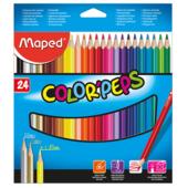 Карандаши цветные Maped Color Peps Classic 24 цвета (MP.183224)