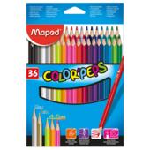 Карандаши цветные Maped Color Peps Classic 36 цветов (MP.832017)