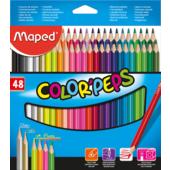 Карандаши цветные Maped Color Peps Classic 48 цветов (MP.832048)