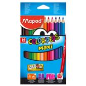 Карандаши цветные Maped Color Peps Maxi 12 цветов (MP.834010)