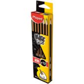 Карандаш графитовый Maped Black Peps 2B без ластика (MP.850022)
