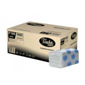 Полотенца Tischa Papier Basic V-образные целлюлозные 160шт (P100)