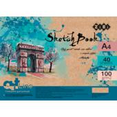 Скетчбук ZiBi Art Line А4 на 40 листов кремового цвета 100 г/м2 (ZB.1480)