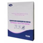 Накладки гігієнічні Tischa Papier на унітаз 200 шт (TC200)