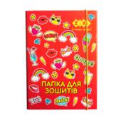 Папка для тетрадей ZiBi Suzy B5+ картонная, на резинке (ZB.14960)