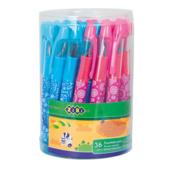Ручка перьевая Zibi ZB.2241, пластик, корпус ассорти