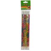 Карандаш графитовый ZiBi Legs, HB, ластик, блистер, 5 шт (ZB.2305-5)