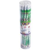 Карандаш графитовый ZiBi, TROPIKANA HB, с ластиком , туба 20 шт, KIDS LINE (ZB.2309-20)