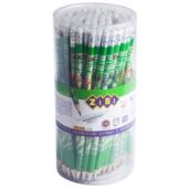 Карандаш графитовый ZiBi Kids Line Tropikana HB с ластиком (ZB.2309)