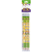 Карандаш графитовый ZiBi Goal HB, с ластиком, блистер (5 шт.), KIDS Line (ZB.2311-5)