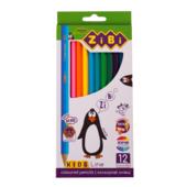 Карандаши цветные ZiBi Kids Line 12 цветов (ZB.2414)