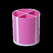 Подставка для пишущих принадлежностей ZiBi Kids Line Твистер, розовая, 4 отделения (ZB.3003-10)