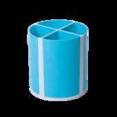 Подставка для пишущих принадлежностей ZiBi Kids Line Твистер, голубая, 4 отделения (ZB.3003-14)