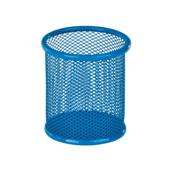 Подставка для ручек металлическая ZiBi, круглая, синий (ZB.3100-02)