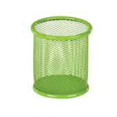 Подставка для ручек металлическая ZiBi, круглая, салатовый (ZB.3100-15)