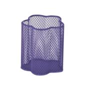 Подставка для ручек металлическая ZiBi, круглая, фиолетовый (ZB.3101-07)