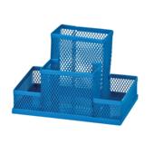 Прибор настольный металлический ZiBi, синий (ZB.3116-02)