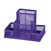 Прибор настольный металлический ZiBi, фиолетовый (ZB.3116-07)