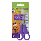 Ножницы детские Zibi Kids Line 132мм, для левши, фиолетовый (ZB.5018-07)