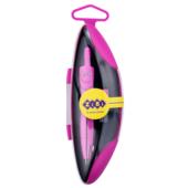 "Циркуль ZiBi Kids Line ""Start Neon"" в твердом футляре Розовый (ZB.5323NS-10)"