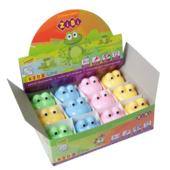 Точилка ZiBi Kids Line Жабка, с контейнером, 1 отв. в блист., зеленый (ZB.5520)